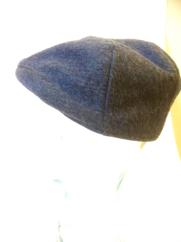 A personal favorite from my Etsy shop https://www.etsy.com/ca/listing/551081371/vintage-woolcap-with-quiltinggray-blue