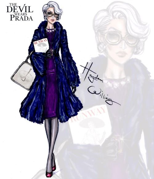 The Devil Wears Prada collection by Hayden Williams: Miranda Priestly