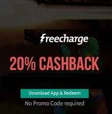 Postpaid Bill Payment & DTH Recharge Offer May : Get 20% Cashback on Freecharge - Best Online Offer
