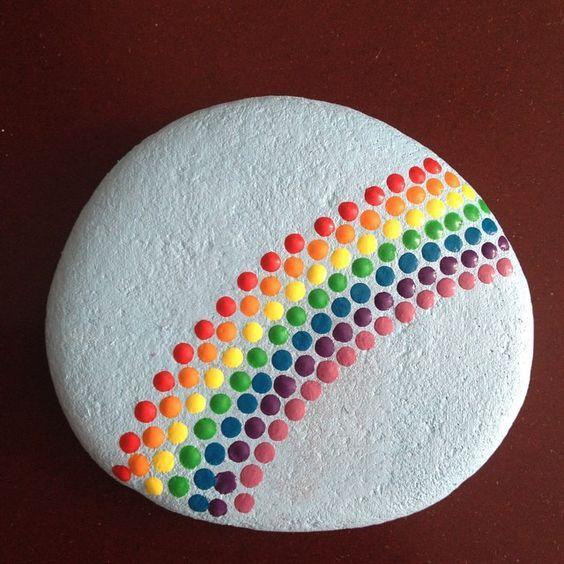 45 Awesome Painted Rocks