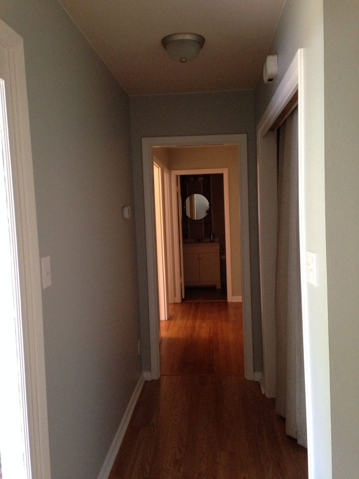 Hallway In Sherwin Williams Lapland Ice House For Sale