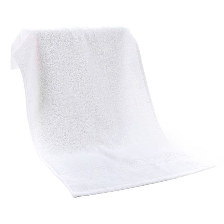 1 pc 35*75cm Environmental Absorbent Cotton Drying Bath Towel Washcloth Shower Towel Multicolor