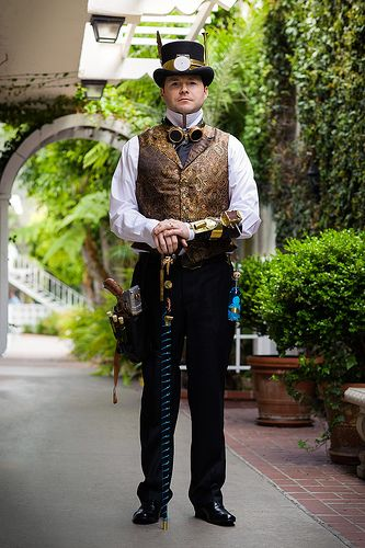 Gaslight Gathering 2013 by Mr. Muggles, via Flickr This is just good on so many levels