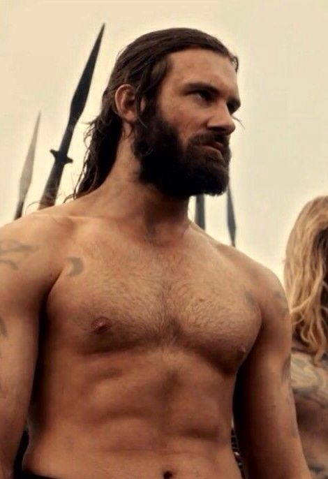 Clive Standen as Rollo... : Vikings