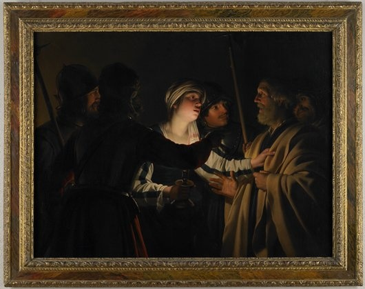 The denial of st peter by caravaggio essay