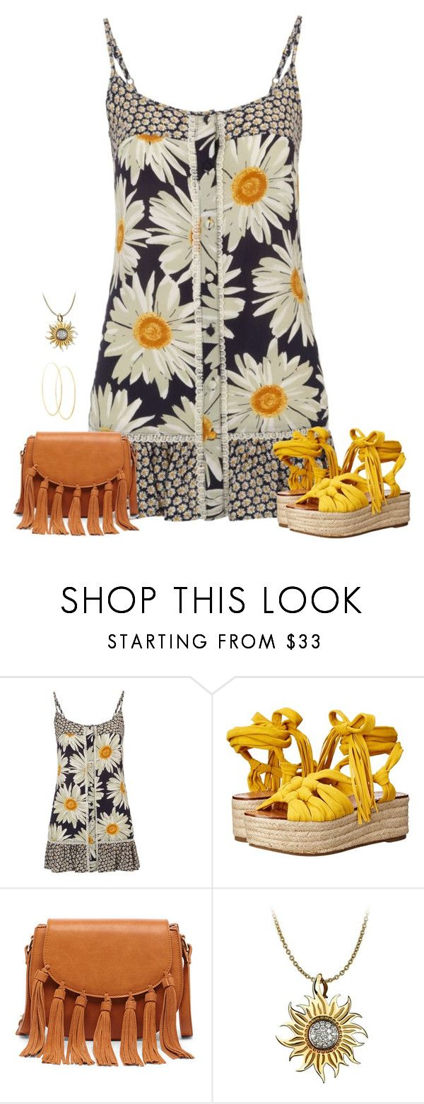 """Perfect Hot Day Outfit"" by sherry7411 ❤ liked on Polyvore featuring H! by Henry Holland, Sigerson Morrison, Sole Society, Carrera y Carrera and Lana"