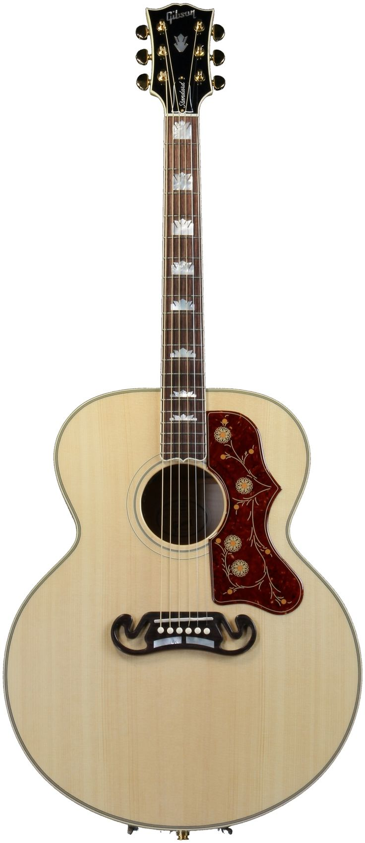Gibson Acoustic J-200 Standard (Antique Natural) | Sweetwater.com -kinda want a Gibson guitar... not sure which one, so I'll just post this one... but maybe one day... I do like this J-200