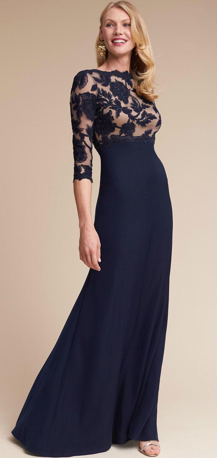 Fuchsia color mother of bride dresses