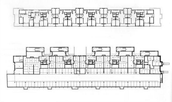 Peter Märkli Housing Plan