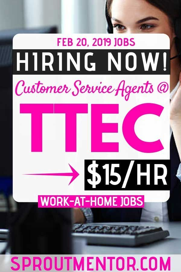 Legitimate Work At Home Jobs Hiring Now, February 20, 2019