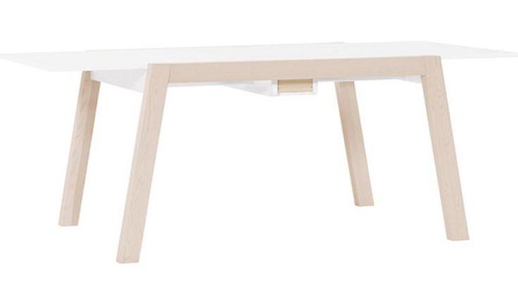 TABLE A MANGER AVEC RALLONGE DESIGN SPOT