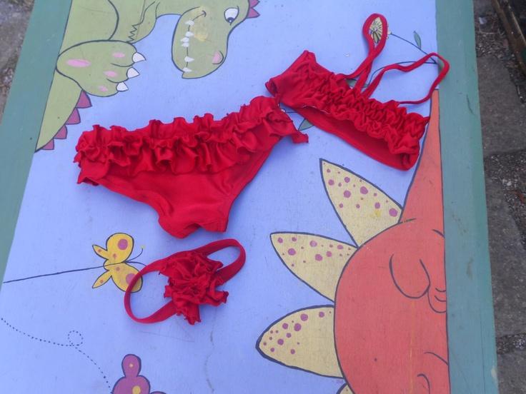 bikini-rosso-bambina