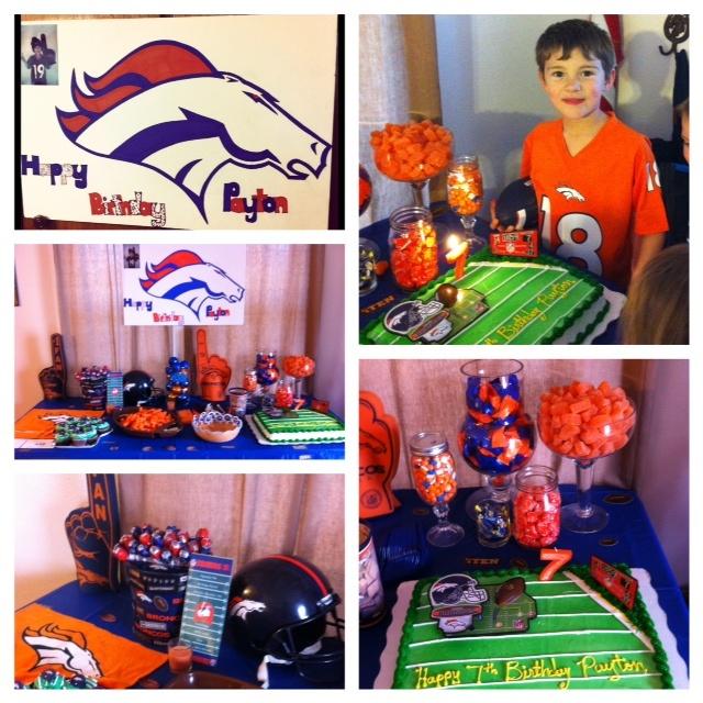 Paytons Broncos Birthday Party