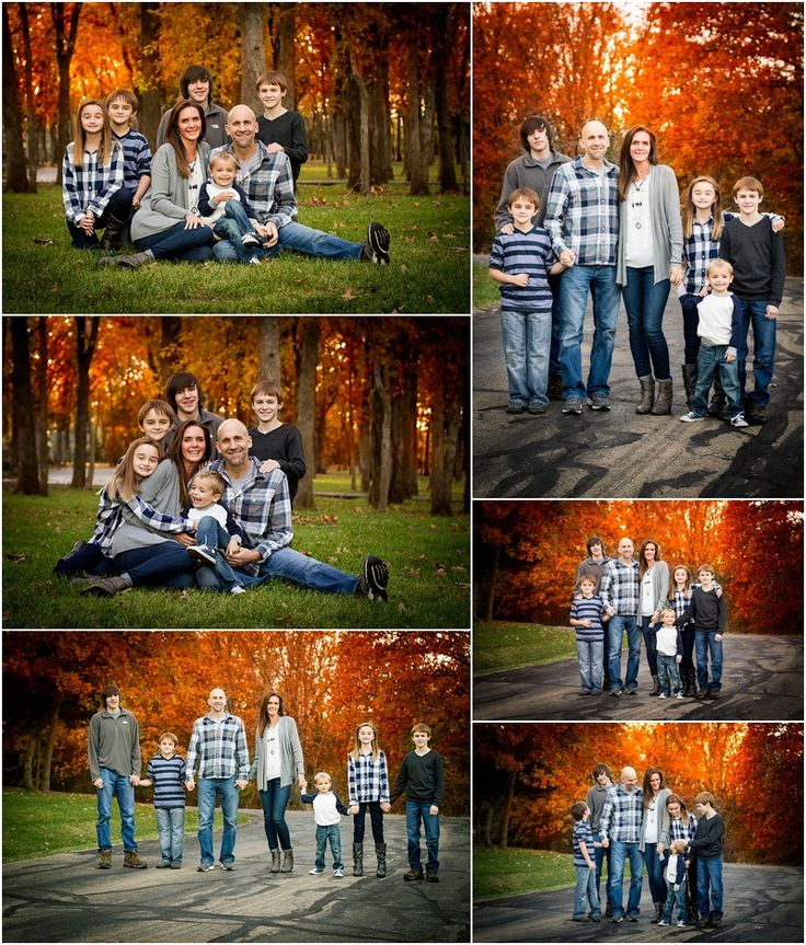 Stillwater Oklahoma 74074 Family Photographer | Family of 7 Poses | Large Family Poses