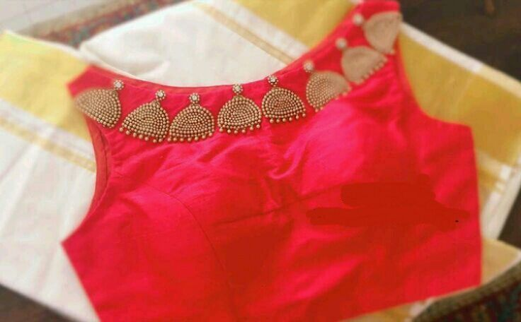 "137 Likes, 2 Comments - @sreedesignercollections on Instagram: ""Beautiful Onam saree with red blouse to order inbox us #saree #sareeblouse #red #redblouse #kerala…"""