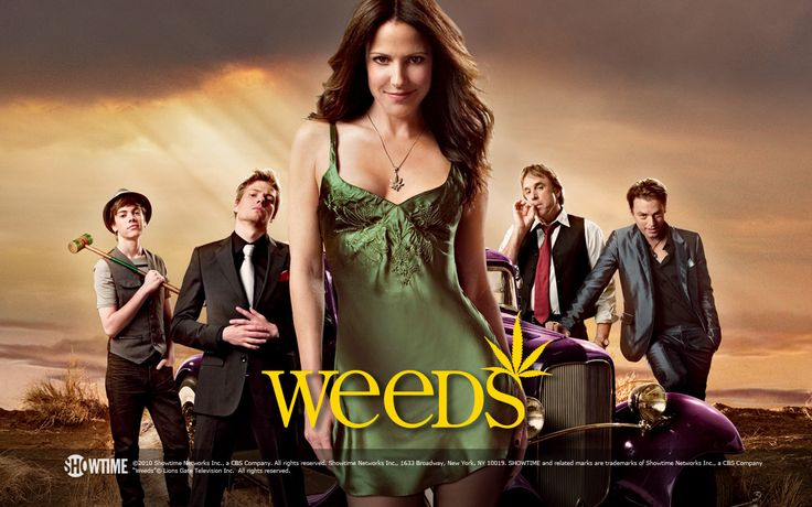 Weeds (2005–2012) -  Stars: Mary-Louise Parker, Hunter Parrish, Alexander Gould.  -  When a suburban mother turns to dealing marijuana in order to maintain her privileged lifestyle after her husband dies, she finds out just how addicted her entire neighborhood already is.  -  COMEDY / CRIME / DRAMA