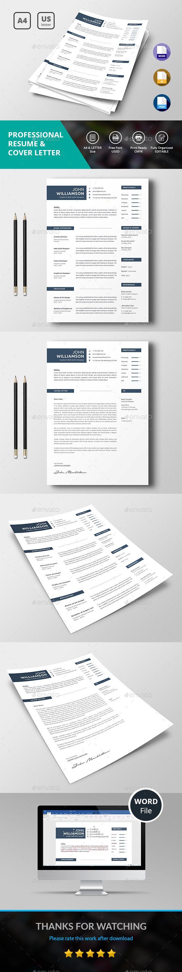 Resume Resume Cover Letter TemplateLetter 7
