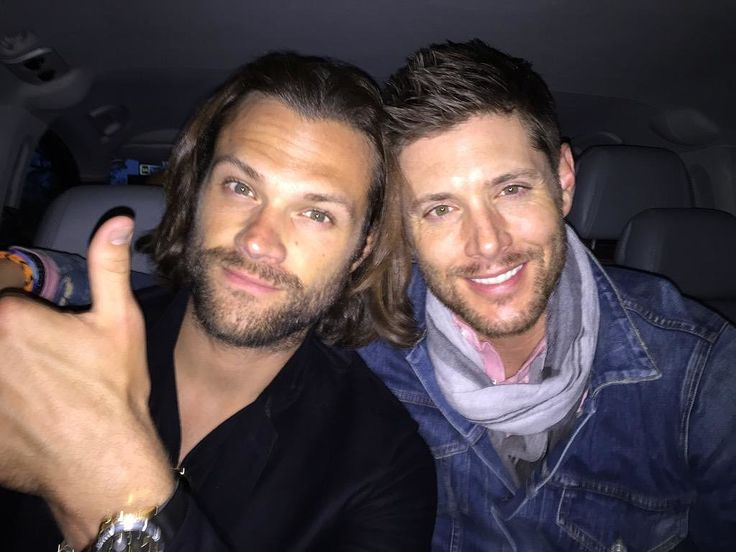 The 26 Best Moments From Jensen and Jared's Supernatural Bromance | POPSUGAR Celebrity UK
