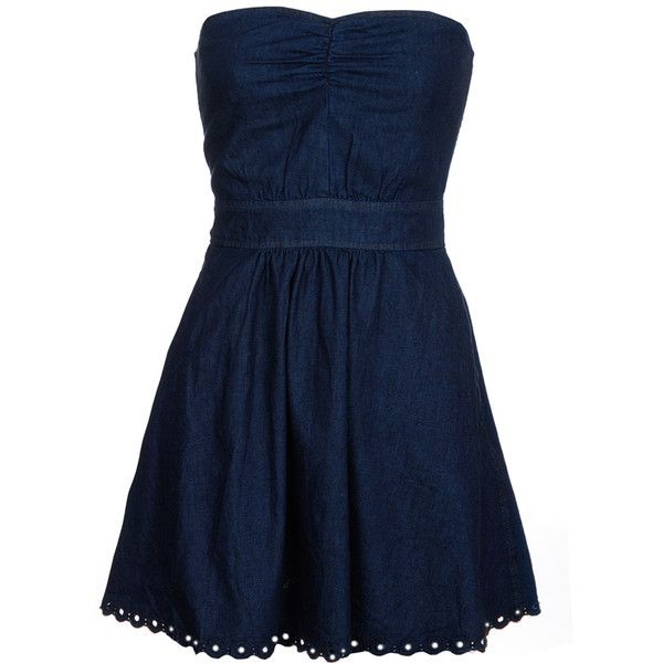 Juicy Couture Adorable Denim Jeans mini dress ($200) ❤ liked on Polyvore featuring dresses, vestidos, vestiti, short dresses, women, sexy mini dress, mini dress, sexy dresses, blue summer dress e sexy short dresses