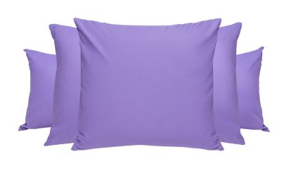 Set 2 Fundas Lavanda. Visítanos en tuakiti.com #fundaalmohada #pillowcase #decoracion #homedecor #hogar #home #habitacion #bedroom #tuakiti