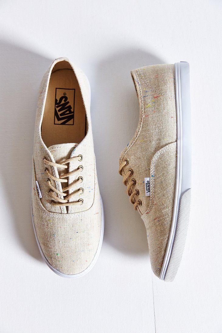 Vans Authentic Lo Pro Linen Sneaker - Urban Outfitters