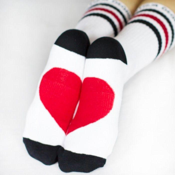 Arthur George by Robert Kardashian Half Of Heart Socks - Trend Watch Socks