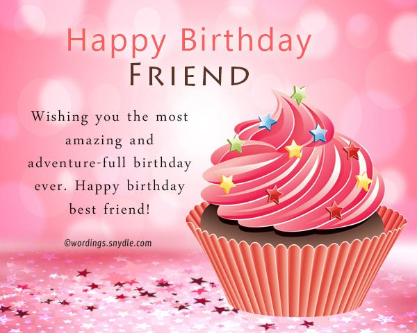Birthday Wishes For Best Friend Female Wordings And Messa