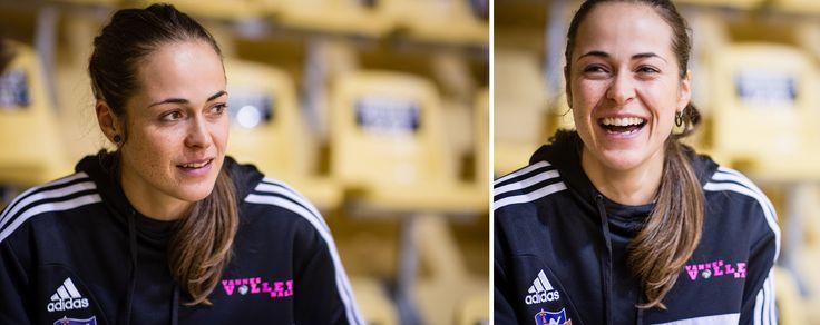 Laurianne Delabarre capitaine du Vannes Volley Ball - http://www.sebastiencaverne.fr/laurianne-delabarre-capitaine-du-vannes-volley-ball/ #Femme, #LeMensuelDuGolfe, #Morbihan, #Vannes, #VolleyBall
