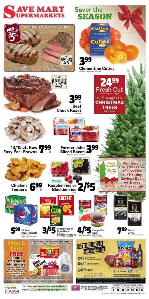 Save Mart Weekly ad December 9 - 15, 2015 - http://www.olcatalog.com/save-mart/save-mart-weekly-ad.html