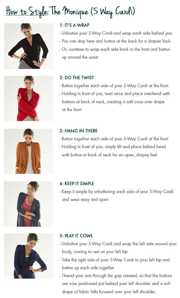 Metalicus How to wear the 5 Cardi Guide Winter 2013