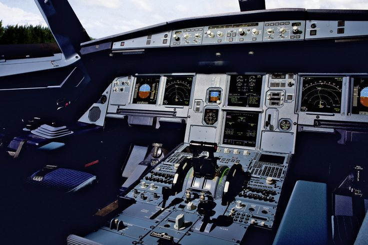 Inside Our  Airbus A320 Full Flight Simulator Cockpit View