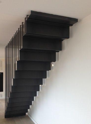 70 best escalier acier images on pinterest banisters stairs and stair design. Black Bedroom Furniture Sets. Home Design Ideas