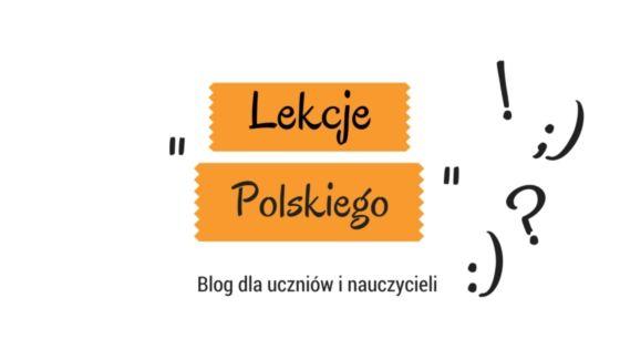 Lekcje Polskiego