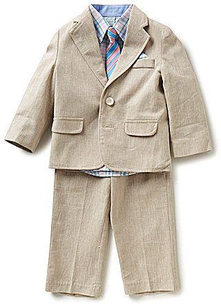 Class Club Little Boys 2T-7 4-Piece Suit Set