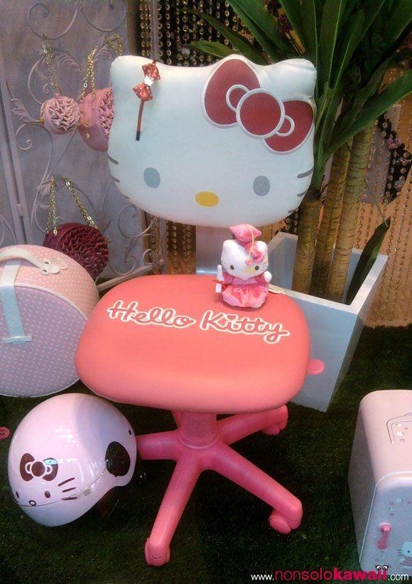 Hello Kitty Desk Chair Tall Director With Side Table Store Pinterest And