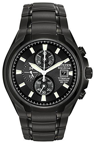 From 220.00 Citizen Men's Ca0265-59e Eco-drive Titanium Watch