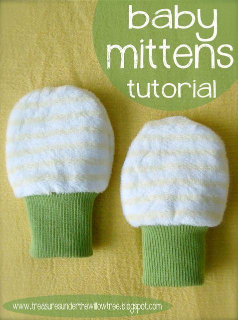 Baby mitten patterns