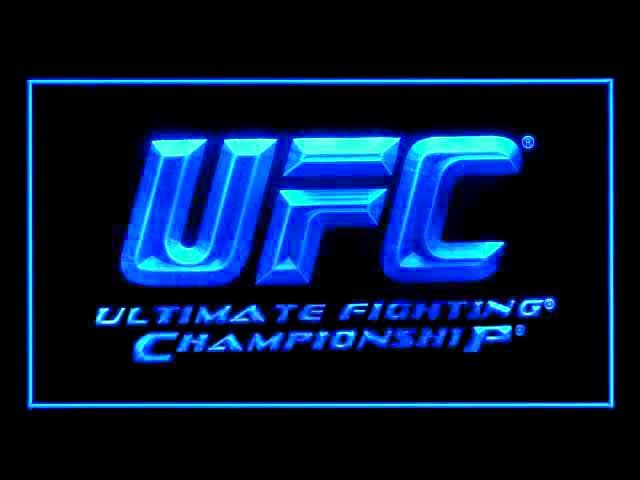 UFC Ultimate Fight Championship Neon Light Sign
