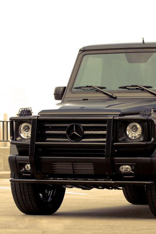if only the g wagon was actually a decent vehicle we would highly endorse it
