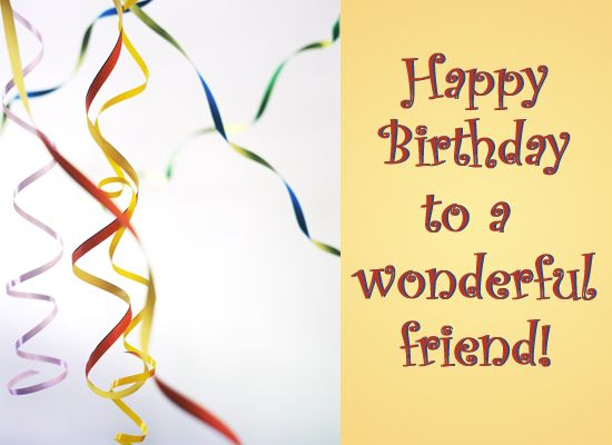 Happy Birthday For Him Funny ~ Happy birthday pictures ribbons ecard friend s cards