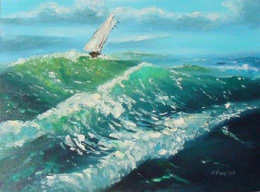 Mare in tempesta (Wojciech Niemiec)