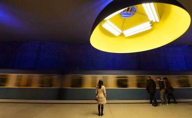 Westfriedhof Station located in Munich, Germany