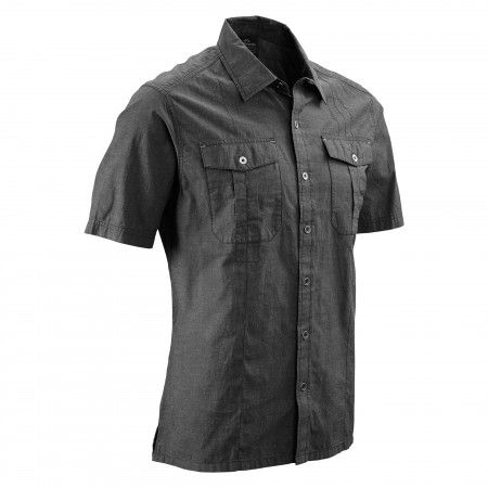 Brevis Short Sleeve Shirt Men - Granite