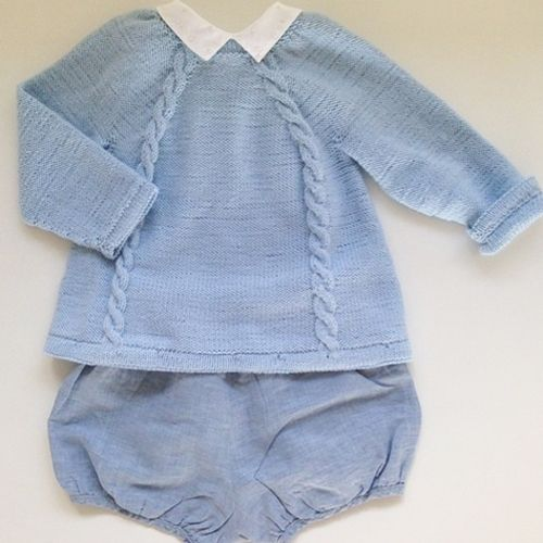 READER'S MINISTRIKK: Back Buttoned Jumper and Rompers by @abc123stop