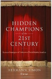 Going deep inside hundreds of hidden champions around the world, the author reveals the common patterns, behaviors, and approaches that make these companies successful, and, in many cases, able to sustain world market leadership for generations, despite intense competition, financial pressures, and constantly evolving market dynamics.  Cote: 4-321 SIM