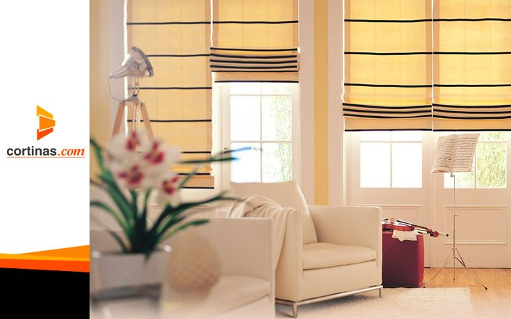 17 best images about cortinas y persianas romanas on for Decoracion de habitaciones pequenas