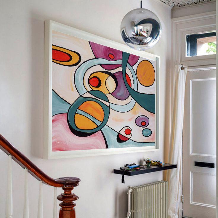 wohnzimmer deko pastell: Wohnzimmer Gemälde auf Pinterest