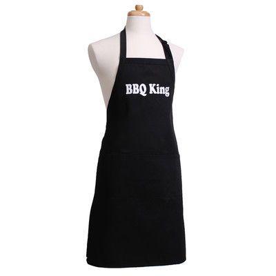 "Flirty Aprons ""BBQ King"" Men's Apron"