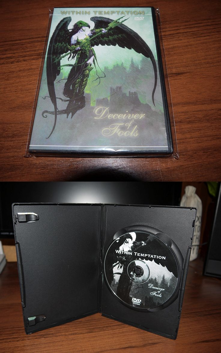 Within Temptation - Deceiver of Fools (DVD bootleg in keep case) 2004
