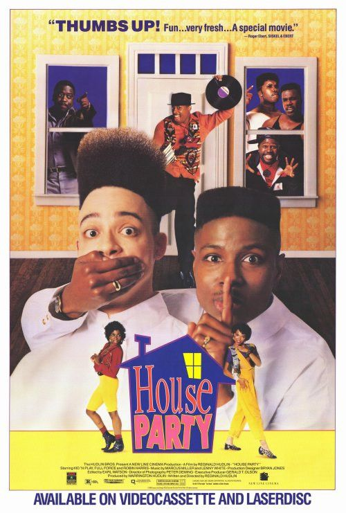 House Party 27x40 Movie Poster (1990) House party movie